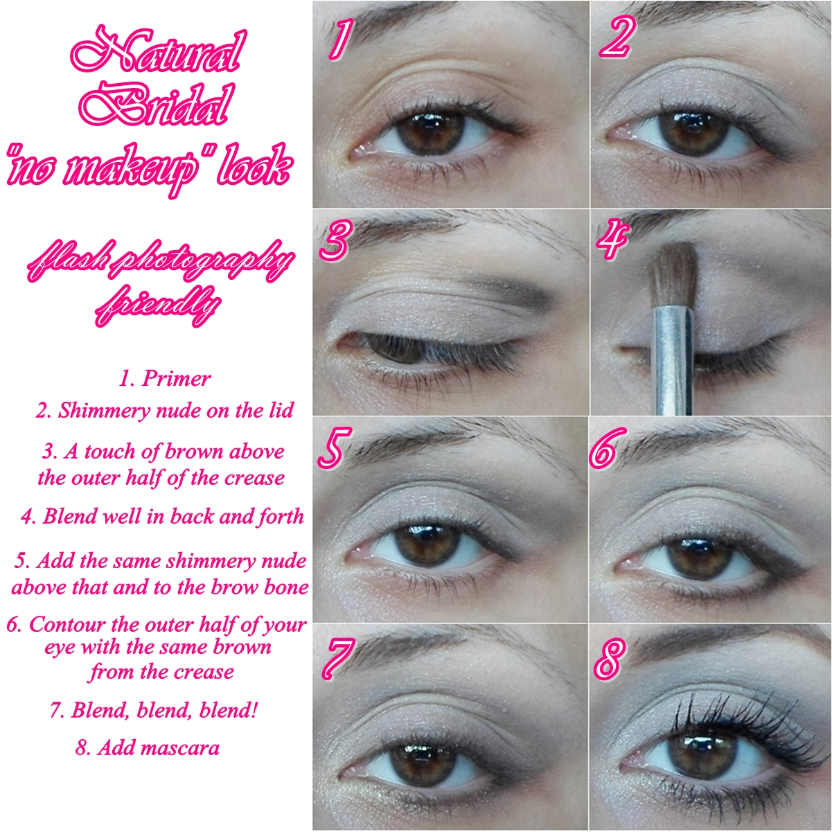 Natural Makeup Tutorial Step By Step Pictures | www ...