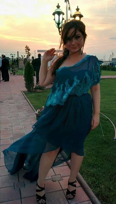 fanny crown teal evening dress