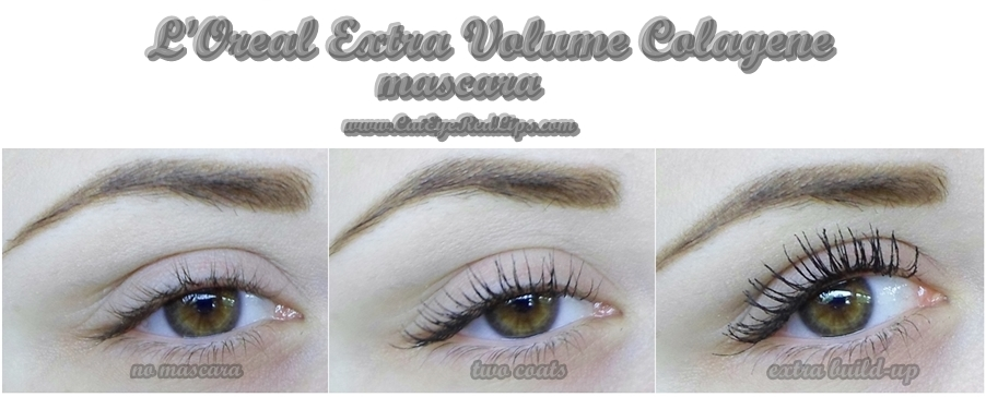 L'Oreal Extra Volume Collagene mascara review | Cat Eyes Red Lips