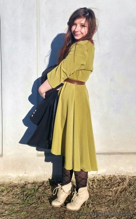 anassa dress review