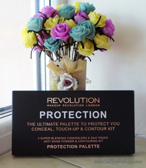 makeup revolution protection palette review