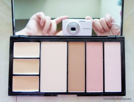 makeup revolution protection palette swatches