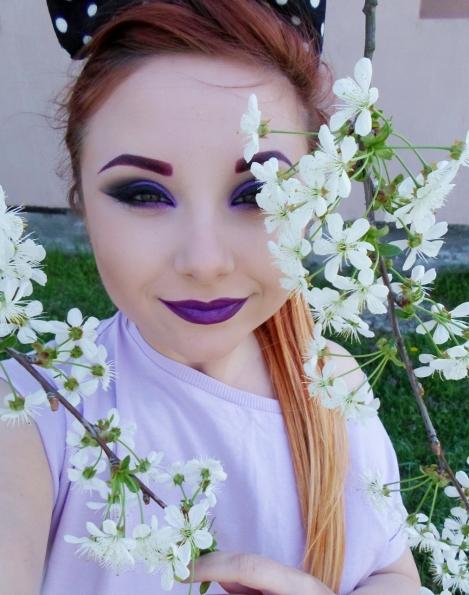 makeup revolution purple lipstick swatches