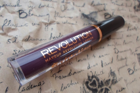 makeup revolution salvation black heart