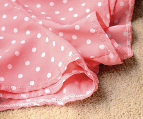 dresslink polkadot pink pants